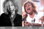 When did Steven Tyler turn into Carly Simon?