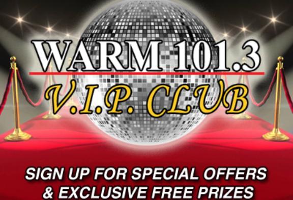 WARM 101.3 – V.I.P. Club