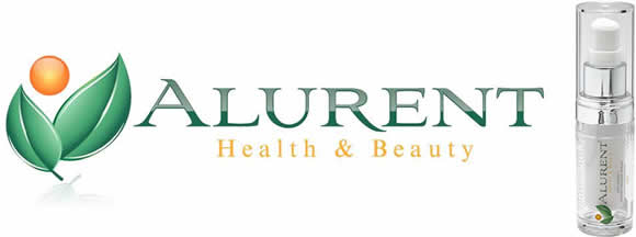 Alurent Logo and Serum Pic