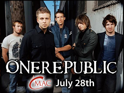 One Republic 400x300