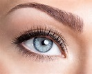 brow blue eye