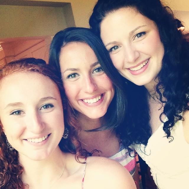 trio of my girls