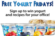 Free Yogurt Friday!