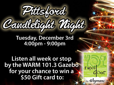 Pittsford Candlelight Night Slide1