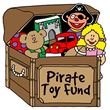 Pirate Toy Fund Toy Drive