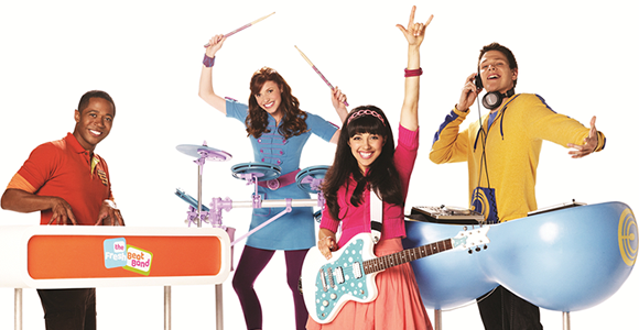 Fresh Beat Band WARM Splash