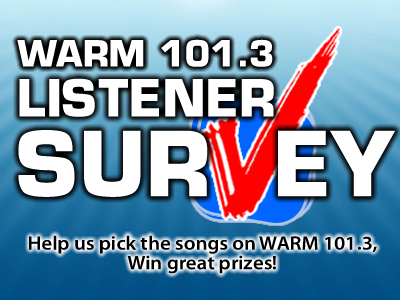 Listener Survey WARM Slide