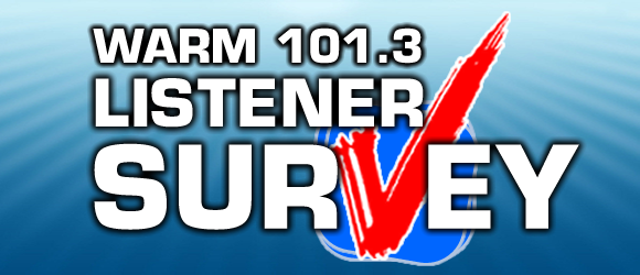 Listener Survey WARM Splash