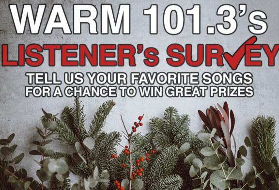 WARM 101.3 Listener Survey