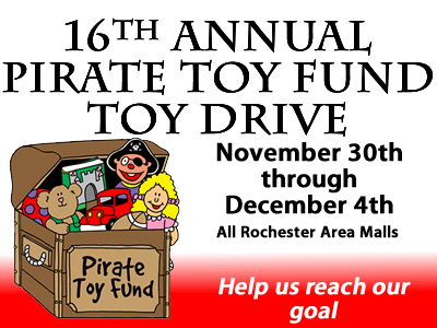 Pirate Toy Drive 400x300
