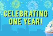 2Foodies 1 Year Anniversary