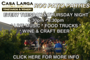 Casa Larga Roc Patio Parties