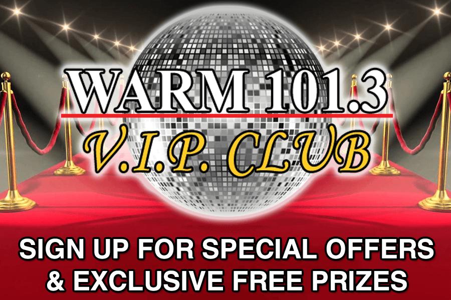 WARM 101.3 - V.I.P. Club