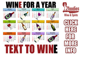 2Foodies WINE FOR A YEAR CONTEST