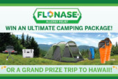 Flonase Ultimate Camping Package & Hawaiian Vacation Giveaway!