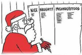 "How Many of These ""Naughty"" and ""Nice"" Things Did You Do This Year?"