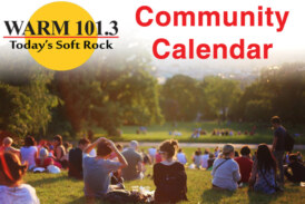 WARM 101.3 Community Calendar