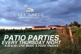 Casa Larga Patio Parties