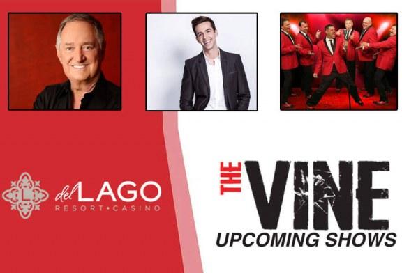 Upcoming Shows At Del Lago Resort