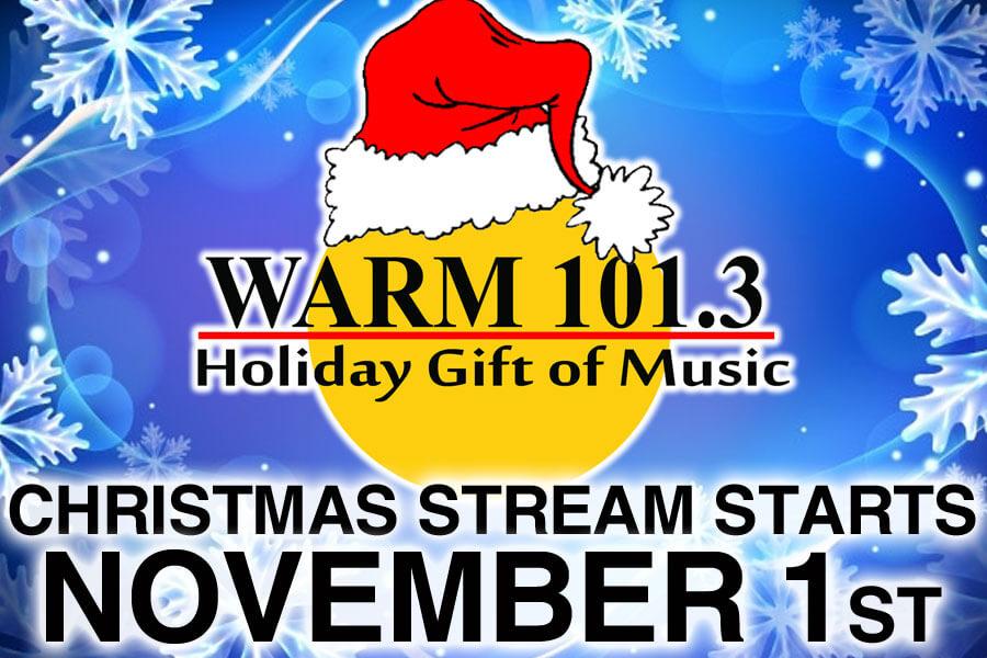 WARM 101.3 Holiday Gift Of Music Stream | WARM 101.3