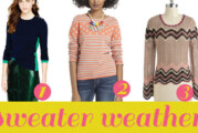 Fashion First: Sweater Weather