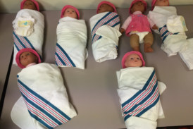 Word For The Weekend: SWADDLE