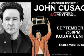 John Cusack Live with a Screening Of Say Anything