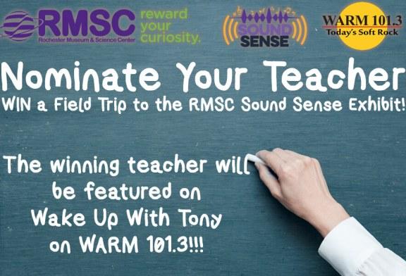 Nominate Your Teacher | WIN a RMSC Field Trip!