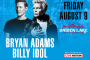 Bryan Adams & Billy Idol | August 10th
