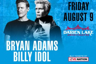Bryan Adams & Billy Idol   August 10th