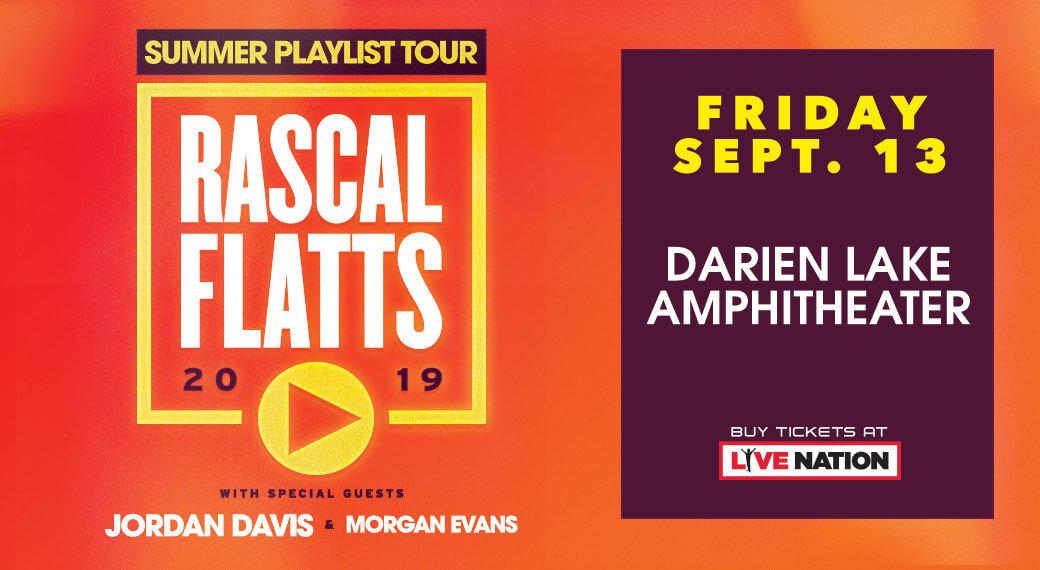 Rascal Flatts   Sept 13th - WARM 101 3