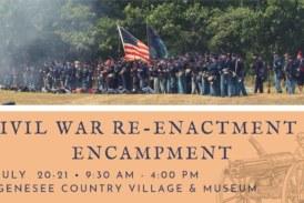 Civil War Re-enactment & Encampment