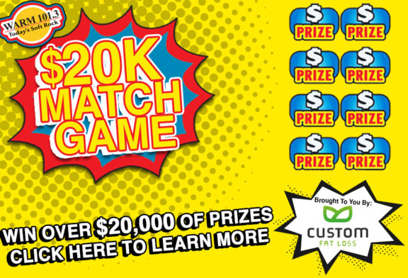 WARM 101.3's $20k Match Game