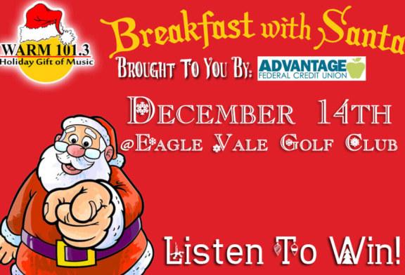 WARM's Breakfast With Santa
