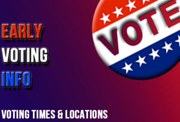 Voting locations and times in Monroe County