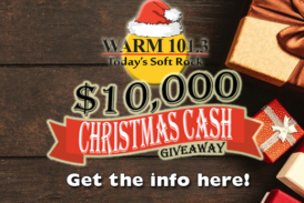 Win $10,000 with Warm101.3 and ChristmasDJ.com!