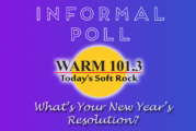 POLL What Are Your New Year's Resolutions?