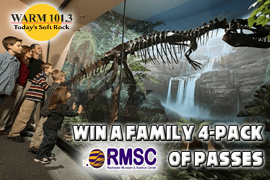 WIN: A Family 4 pack of Passes to RSMC