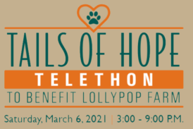 Join Pat for Tails of Hope Telethon 2021
