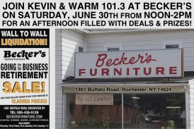 Becker's Going Out Of Business Sale