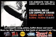 COLONIAL BELLE LED ZEPPELIN CRUISE