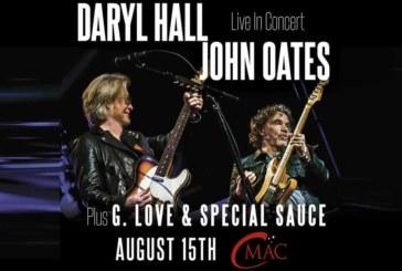 Daryl Hall & John Oates   Aug 15th