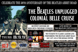 The Beatles Unplugged Cruise   September 19th