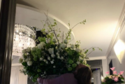 Lady Gaga's Boyfriend Gets Her Lifesize Flower Bouquet For Her Birthday!