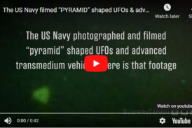 Department of Defense says leaked footage of UFO's were taken by Navy