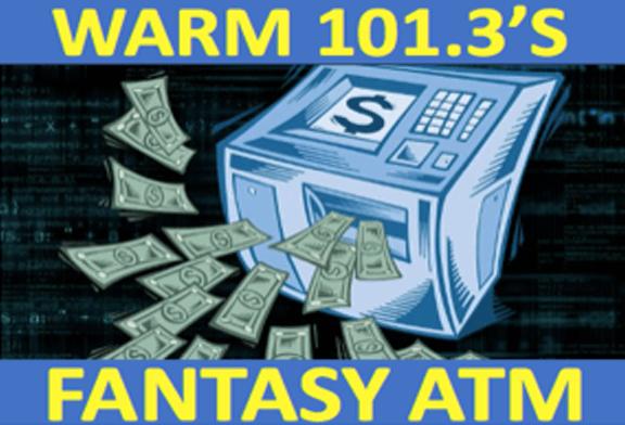 WARM 101.3's Fantasy ATM